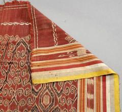 Antique Ikat Pua from Borneo Indonesia - 82698