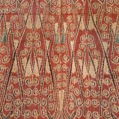 Antique Ikat Pua from Borneo Indonesia - 82699
