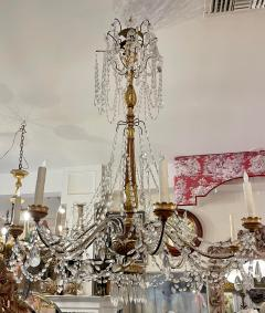 Antique Italian Giltwood Chandelier Therien Collection - 2057291