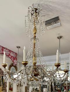 Antique Italian Giltwood Chandelier Therien Collection - 2057293