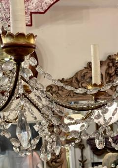 Antique Italian Giltwood Chandelier Therien Collection - 2057296