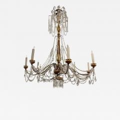 Antique Italian Giltwood Chandelier Therien Collection - 2060099