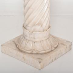 Antique Italian Pedestal Marble Table - 1181910