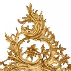 Antique Italian giltwood mirror in the Rococo style - 1443618