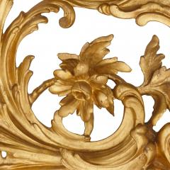 Antique Italian giltwood mirror in the Rococo style - 1443622