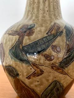 Antique Japanese Ceramic Mingei Vase - 1119100