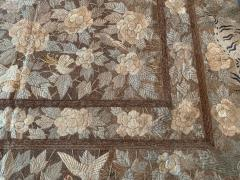 Antique Japanese Embroidery Tapestry - 1201305