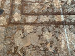 Antique Japanese Embroidery Tapestry - 1201309