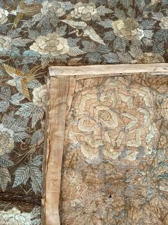 Antique Japanese Embroidery Tapestry - 1201311
