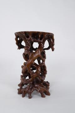 Antique Japanese Root Stand - 1824956