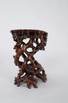 Antique Japanese Root Stand - 1824957