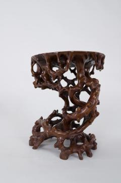 Antique Japanese Root Stand - 1824958