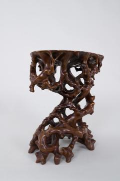 Antique Japanese Root Stand - 1824980