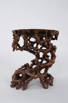 Antique Japanese Root Stand - 1824983