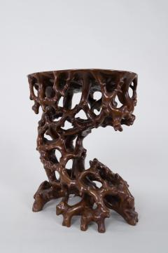 Antique Japanese Root Stand - 1824989