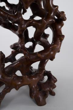 Antique Japanese Root Stand - 1825017