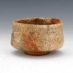 Antique Japanese Shino Ware Chawan Tea Bowl - 1381195