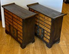 Antique Japanese Tansu Cabinets a Pair - 1999863