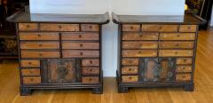 Antique Japanese Tansu Cabinets a Pair - 1999864