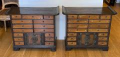 Antique Japanese Tansu Cabinets a Pair - 1999881