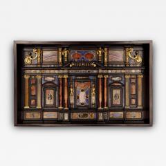 Antique Lapis Lazuli Early Seventeenth Century Italian Roman Cabinet  - 1267901