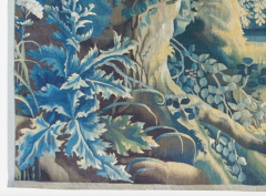 Antique Late 17th C Flemish Verdure Landscape Tapestry - 1885242