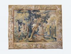 Antique Late 17th Century Antique Franco Flemish Verdure Landscape Tapestry - 1892823