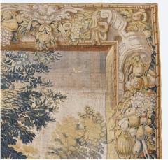 Antique Late 17th Century Antique Franco Flemish Verdure Landscape Tapestry - 1892835