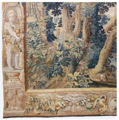 Antique Late 17th Century Antique Franco Flemish Verdure Landscape Tapestry - 1892836