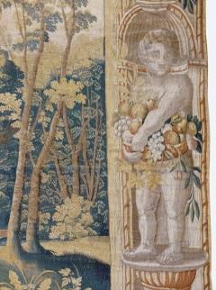 Antique Late 17th Century Antique Franco Flemish Verdure Landscape Tapestry - 1892837