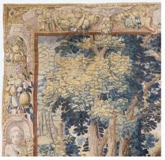 Antique Late 17th Century Antique Franco Flemish Verdure Landscape Tapestry - 1892838