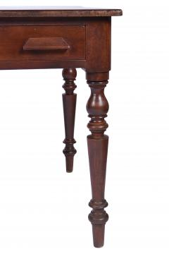Antique Library Table 19th Century Walnut Germany or Austria - 1876168