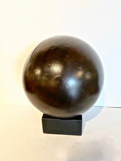 Antique Lignum Vitae Bowling Ball - 1772951