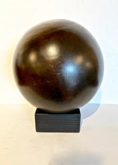 Antique Lignum Vitae Bowling Ball - 1772952