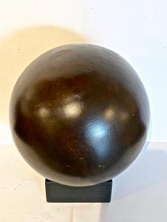 Antique Lignum Vitae Bowling Ball - 1772955