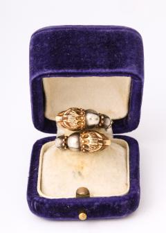 Antique Lion Headed Gold and Silver - 1174385