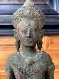 Antique Lopburi Buddha Statue from Thailand - 1885518