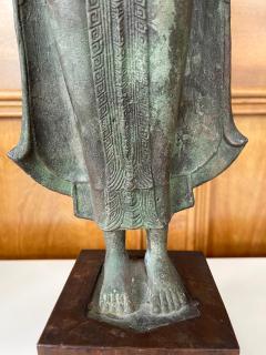 Antique Lopburi Buddha Statue from Thailand - 1885521