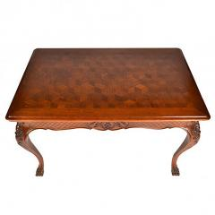 Antique Louis XIV Oak Dining Kitchen Library Table - 163466