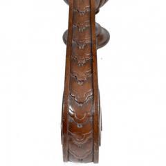 Antique Louis XIV Walnut Pedestal Plant Stand 19th Century France - 167860