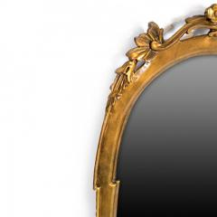 Antique Louis XV Oval Mirror Carved and Gilded France 19th Century - 150447