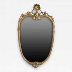 Antique Louis XV Oval Mirror Carved and Gilded France 19th Century - 150901