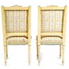 Antique Louis XVI Pair of Side Chairs 19th C France - 173783
