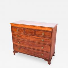 Antique Mahogany D Maria Style Chest of Drawers - 1841536