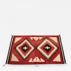 Antique Navajo American Indian Rug - 370165