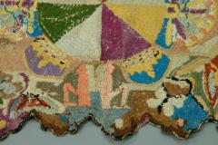 Antique Needlework Table Mat or Rug Circa 1820 - 1392512