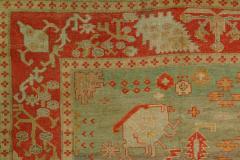 Antique Oushak Rug - 862983