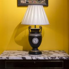 Antique Pair of Greek Revival Table Lamps 19th Century - 1179640