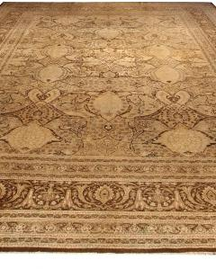Antique Persian Tabriz Carpet - 485436