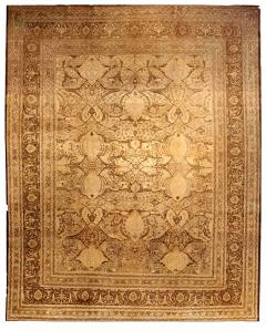 Antique Persian Tabriz Carpet - 485440